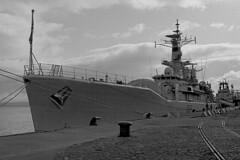 HMS Euryalis (Clyde Rivers) Tags: navy frigate customhouse greenock gourock clyde inverclyde royalnavy leander euryalus warship