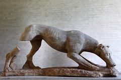 Dog (just.Luc) Tags: dog hond chien sculpture escultura stone steen pierre glyptothek munich mnchen deutschland bayern germany bavaria duitsland beieren allemagne bavire