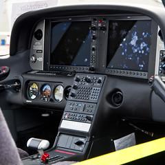 Fingerprints (ramseybuckeye) Tags: ohio state university airport don scott field pentax art life columbus september 17 2016 saturday aviation cockpit cirrus aircraft