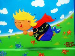 voando (BENET - BNT) Tags: graffiti infantil escola spray bnt benet art arte custom work paint pintura
