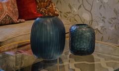 Vases in the K.A. Roos Interiors showroom (frankmh) Tags: vase glass art design karoosinteriors showroom kullagunnarstorp sweden indoor