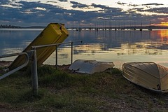 The Siesta (Sterling67) Tags: belmont lakemacquarie water reflections clouds 2470