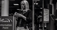 Blondes have more fun (M.DStreets) Tags: amateur blackwhite blackandwhite candid centre contrast d3200 expression faces gx1 gritty inspiration indoor lightroom mdstreets monochrome manchester mirrorless movement outdoor outdoors people photography streets street travel v