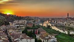 Florentine Sunset (Luna y Valencia) Tags: torresanniccolo tramonto sunset firenze atardecer