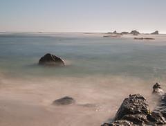 beach (pandeesh89) Tags: beach half moon bay nature water silky buttery long exposure day time 5d mark 3