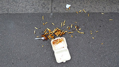 24/08/12 (Gayle Lazda) Tags: london ketchup pavement chips scatter anhouratthesink