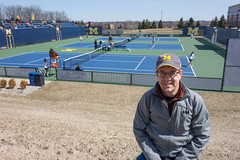 U-M Women's Tennis (Andrew Caird) Tags: me andy tennis um 28 umich universityofmichigan dscrx100 28100mmf1849