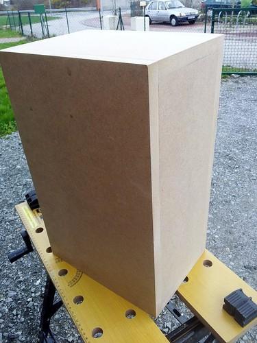 Prima - construction de la caisse