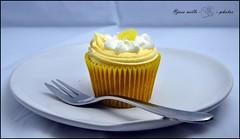 cupcakes (josszilla) Tags: red food yellow lemon strawberry tasty eat cupcake