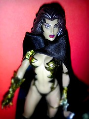 Sara Pezzini (Gold) as WITCHBLADE Medieval action figure 1998 Moore Action Collectibles Medieval  ~ Camera Phone ~  IMAG2062-1-LLC (BrandyVSOP) Tags: camera red woman black green statue lady female toy gold doll sara phone dress action vinyl picture cell medieval plastic moore fantasy bikini figure cape 1998 figures collectibles pvc figureine witchblade 2013 pezzini htcevov4g sexyfantascy