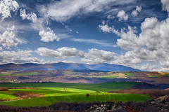 welcome spring (dtsortanidis) Tags: blue trees red sky mountains green field yellow clouds canon landscape photography spring greece 1001nights dimitrios platinumheartaward canon5dmarkii 1001nightsmagiccity mygearandme mygearandmepremium mygearandmebronze ringexcellence tsortanidis dtsortanidis