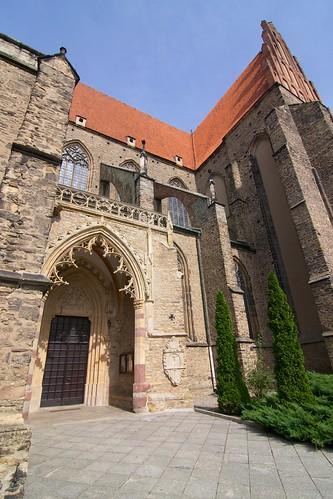 Południowa otwarta kruchta kościoła śś. Piotra i Pawła w Strzegomiu