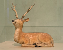 Sacred Deer of Kasuga Shrine (mark6mauno) Tags: county wood sculpture art japan museum losangeles los nikon shrine angeles ivory deer sacred nikkor shinto lacma kasuga netsuke d4 神道 105mmf28dmicro nikond4