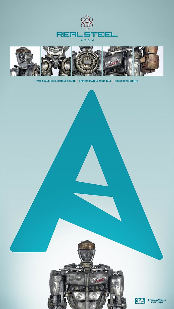 threeA – 鋼鐵擂臺:亞當(ATOM)