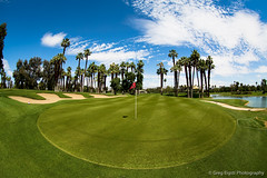 Desert Island Eigth Green (Will shoot for lenses) Tags: trees vacation green water golf us spring flickr palmsprings fisheye april wa ranchomirage lightroom sammamish 2013 topazadjust topazdenoise canoneos5dmarkiii ef815mmf4lfisheyeusm 910islanddrive