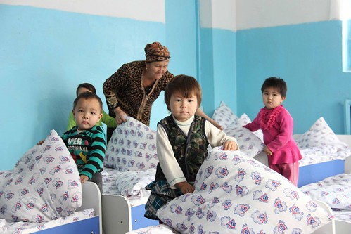 Kindergartens in the devastated Aral Sea region
