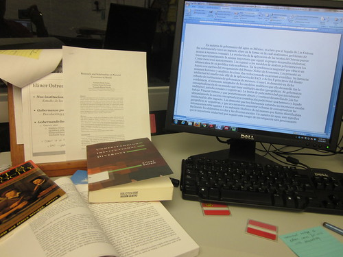 How I write an academic paper by Raul P, on Flickr