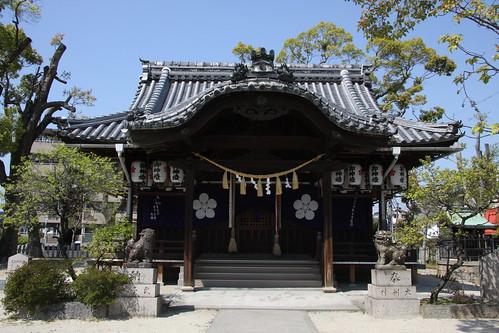 大利神社 拝殿
