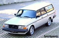 240 Turbo (David Ripamonti) Tags: street old brick vintage volvo turbo 200 series rims 240 polaris 245 eiker