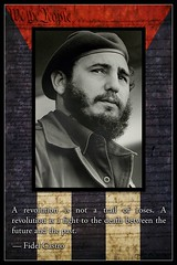 Revolutionary Castro (Saint Iscariot) Tags: america democracy think cuba evolution revolution revolutionary jayz obama kennedy socialism evolve fidelcastro beyonce openletter