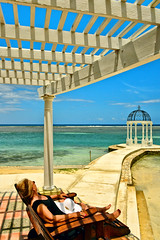 Jamaican Getaway (Jeff Clow) Tags: travel vacation woman lady female getaway caribbean relaxation tpslandscape