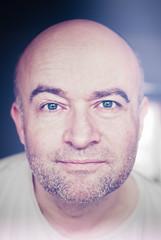 Me (HenrikHansen) Tags: portrait selfportrait man face mouth denmark nose eyes nikon bald human danmark padborg jutland jylland d90