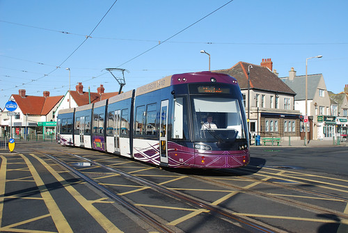 Blackpool Tram Flexity 015