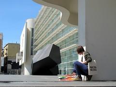 Per Sant Jordi, BookCrossing amb el MACBA (MACBA) Tags: barcelona museum museu bookcrossing release books museo libros macba llibres liberacin alliberament bibliotecadelcentredestudisidocumentaci