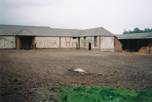 Farmyard at Bury Court, Bentley