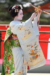 Maiko Performance (Teruhide Tomori) Tags: portrait japan dance kyoto performance maiko   kimono tradition japon odori