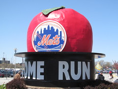 Los Angeles Dodgers vs. New York Mets - April 25, 2013 (Dougtone) Tags: nyc newyorkcity newyork baseball stadium queens catcher pitcher ballpark mlb newyorkmets flushing outfield mrmet losangelesdodgers citifield