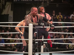 Undertaker, Kane & Daniel Bryan vs. The Shield