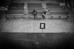 flirting (Joris_Louwes) Tags: woman man couple stage communication relationship flirting talking