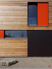Meditation (sring77) Tags: architecture timber architektur rowhouse reihenhaus poing passivhaus vallentin passivehouse architekturwerkstattvallentin