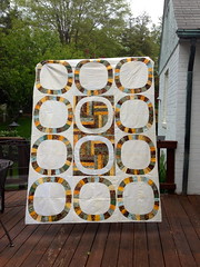 Single Girl Quilt (LLfasrn) Tags: wedding quilt denyseschmidt weddingringquilt singlegirlquilt