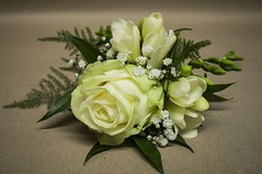 Rose ans Freesia Buttonhole (Francesca Delanty-Granger Photography) Tags: wedding summer white rose cream buttonhole freesia coursage