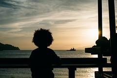 Bom Dia Cabo Verde #1 (Cedpics) Tags: ocean sunset praia beach bay soleil ship shore bateau plage caboverde baie capeverde mindelo saovicente capvert laginha