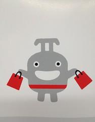 Toyoko Norurun mascot shopping campaign (chacrebleu) Tags: japan train advertising logo tokyo design marketing railway line advertisement mascot corporation company identity brand materials tokyu toyoko touchpoints