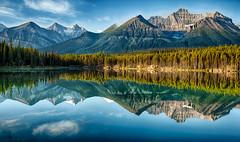 Herbert Lake - Banff National Park (Jeff Clow) Tags: nature landscape bravo albertacanada banffnationalpark canadianrockies herbertlake tpslandscape