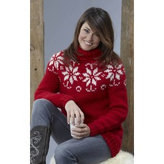 Sweet cowgirl in wool sweater (Mytwist) Tags: wool girl lady sweater women cowboy texas boots craft jeans jumper knitted cowgirl jumpers pullover tjej collor rollneck