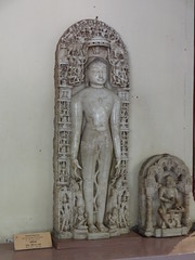 Shantinatha (my-india) Tags: sculpture india history archaeology museum wales ancient asia south prince marble mumbai devotee thar parkar shantinatha veravan