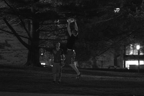 Frisbee at Night (104/365)