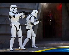 May The Fourth Be With You! (DugJax) Tags: starwars stormtroopers darthvader waltdisneyworld echolake startours theforce ef24105mmf4lisusm jeditrainingacademy maythefourthbewithyou disneyshollywoodstudios canonrebelt2i