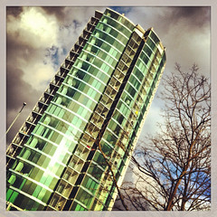 Velocity (ClydeHouse) Tags: tower sheffield velocity iphone appartments moorestreet byandrew instagram