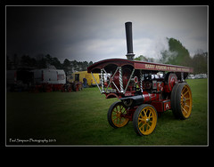 Traction engine (Paul Simpson Photography) Tags: old red transport steam transportation steamengine scunthorpe openday tractionengine photosof imageof normanbypark photoof imagesof may2013 paulsimpsonphotography