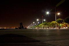 Thessaloniki - Nea Paralia (Kostas Niarchos Photography) Tags: dark lights nightshot thessaloniki afterdark  pezodromos    neaparalia