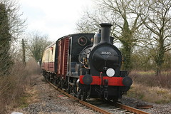 BR / LSWR ( Beyer Peacock ) Beattie Class 0298 'Well Tank' 2-4-0WT 30585 (DC-7C) Tags: london heritage train carlton br tank leicestershire engine railway loco peacock class steam line 314 british locomotive battlefield tbl railways preservation southwestern 240 beattie beyer lswr 3314 welltank 30585 0298 240wt e0314 img40869