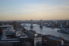 On top of the Monument (inthislight) Tags: london monument thames towerbridge view
