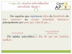 Exerccio orao subordinada substantiva - 46 (AulasApoioCom) Tags: o  que orao exercicios oraes subordinada substantivas substantiva