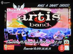 15 Noiembrie 2014 » Artis Band